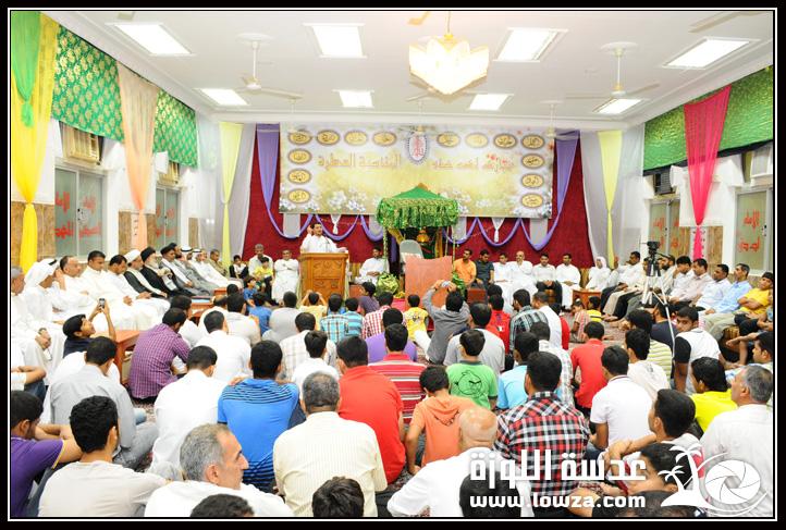 صور احتفال مأتم كرانة الوسطي بمناسبة مولد الإمام المنتظر (عج) 2012مـ