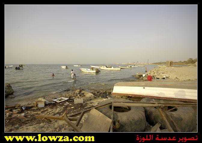 صور حملة تنظيف ساحل القرية لبرنامج مركز كرانة الثانية 31-07-2007م