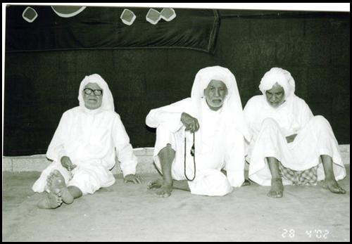 المرحوم الحاج علي الحمران  حجي احمد راشد  وسيد خليل