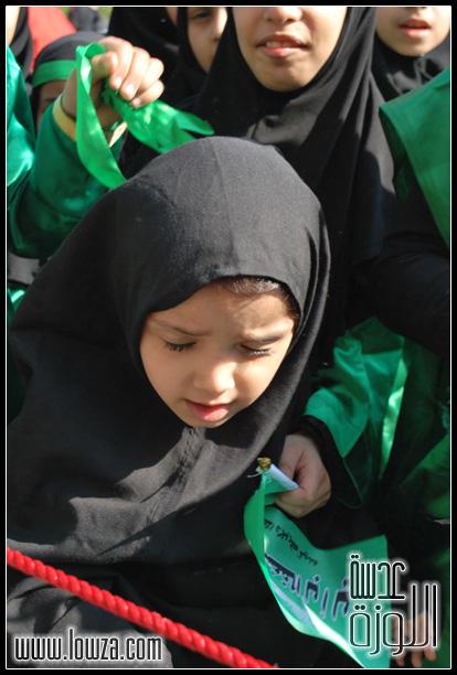 صور مواكب العزاء المركزي في قرية كرانة صباح التاسع من محرم 1431هـ